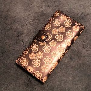 Boho Chic Leather Wallet